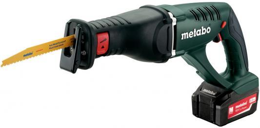 Сабельная пила Metabo ASE 18 LTX 602269610 аккумуляторная ножовка metabo ase 18 ltx 602269610