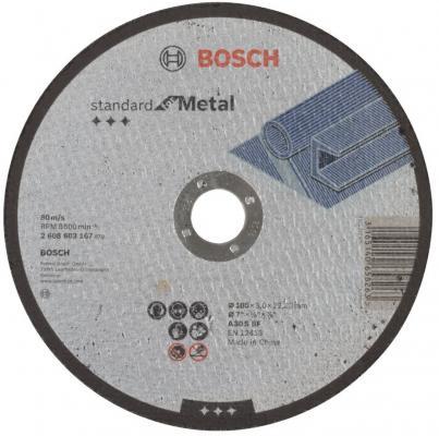 цена на Отрезной круг Bosch Standard 180х3мм 2608603167