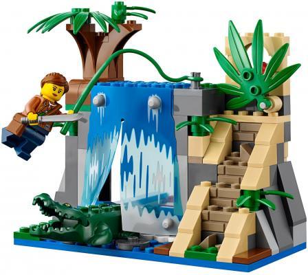 LEGO City: Передвижная лаборатория в джунглях 426 элементов 60160