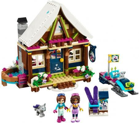 Конструктор LEGO Friends: Горнолыжный курорт - Шале 402 элемента 41323 lego friends со сменным элементом