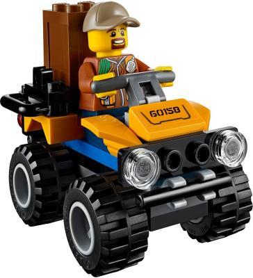Конструктор LEGO City: Грузовой вертолёт исследователей джунглей 201 элемент 60158 конструкторы lego lego city jungle explorer база исследователей джунглей 60161
