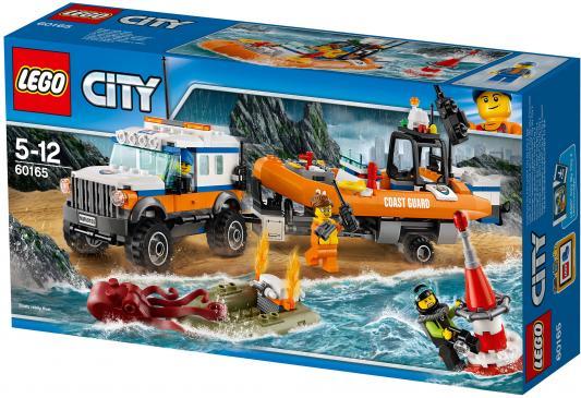 Конструктор LEGO City Внедорожник 4x4 команды быстрого реагирования 347 элементов 60165