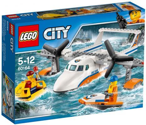 Конструктор LEGO City Спасательный самолет береговой охраны 141 элемент 60164