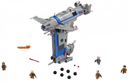 Конструктор LEGO Star Wars: Бомбардировщик cопротивления 780 элементов 75188