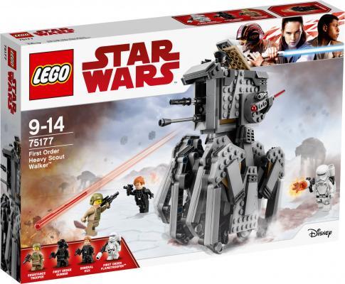 Конструктор LEGO Star Wars Тяжелый разведывательный шагоход Первого Ордена 554 элемента 75177