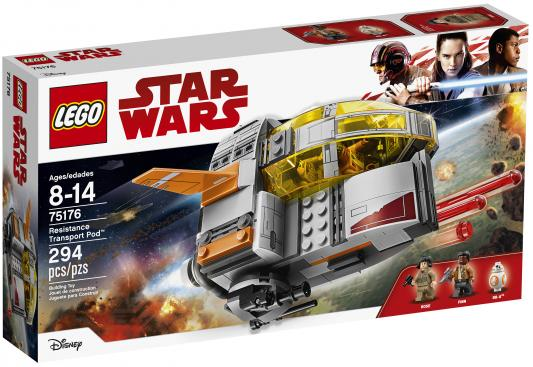 Конструктор LEGO Star Wars Транспортный корабль cопротивления 294 элемента 75176