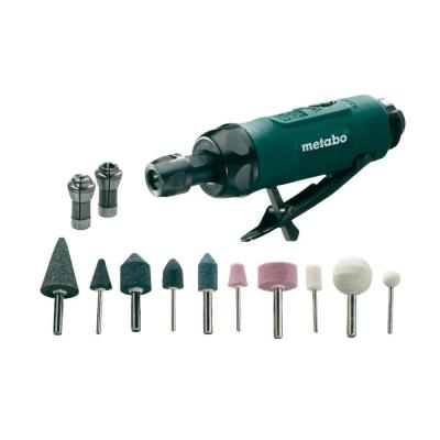 Пневмопрямошлифмашина Metabo DG 25 Set 604116500 metabo dg 25 set