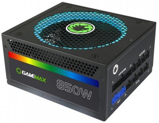 БП ATX 850 Вт GameMax GM-850RGB цена и фото