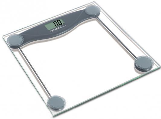 Весы напольные First FA-8013-3-GR серый весы напольные first fa 8006 1