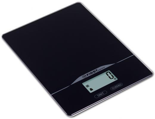 Весы кухонные First FA-6400-2-BA чёрный first fa 6400 black весы кухонные