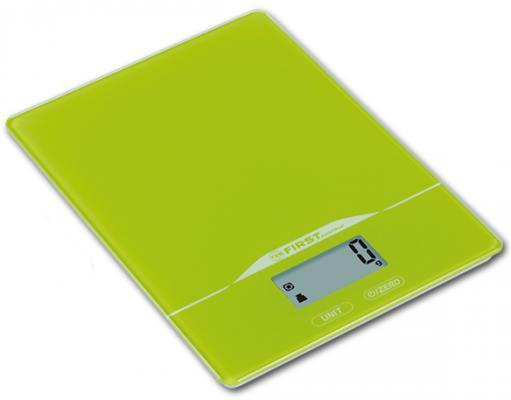 Картинка для Весы кухонные First FA-6400-2-GN зелёный