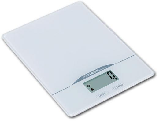 Весы кухонные First FA-6400-2-WI белый first fa 6400 black весы кухонные