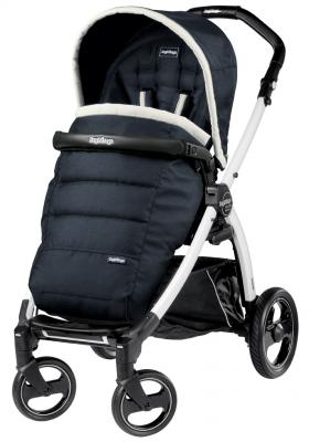 Коляска прогулочная Peg-Perego Book Plus S Pop Up (шасси White) - Luxe Blue