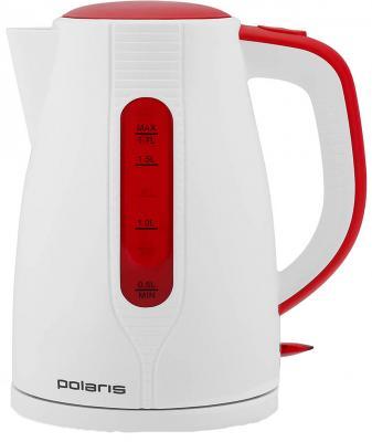 Чайник Polaris 1796C 2200 Вт белый красный 1.7 л пластик