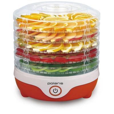 Сушилка для овощей и фруктов Polaris PFD 0305 белый оранжевый