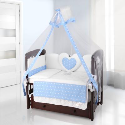 Балдахин на детскую кроватку Beatrice Bambini bianco Neve (stella blu)