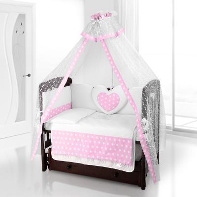 Балдахин на детскую кроватку Beatrice Bambini Di Fiore (anello rosa)