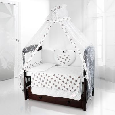 Балдахин на детскую кроватку Beatrice Bambini Di Fiore (Grande stella bianco grigio)