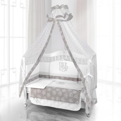 Балдахин на детскую кроватку Beatrice Bambini Di Fiore (orso mamma grigio)