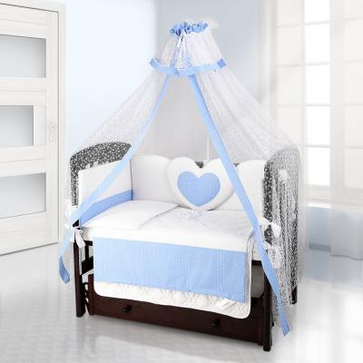 Балдахин на детскую кроватку Beatrice Bambini Di Fiore (puntini blu)