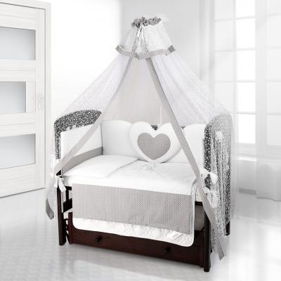 Балдахин на детскую кроватку Beatrice Bambini Di Fiore (puntini grigio)