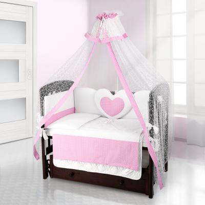Балдахин на детскую кроватку Beatrice Bambini Di Fiore (puntini rosa)