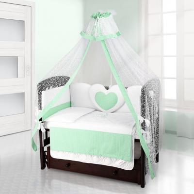 Балдахин на детскую кроватку Beatrice Bambini Di Fiore (puntini verde)
