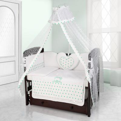 Балдахин на детскую кроватку Beatrice Bambini Di Fiore (stella bianco verde)