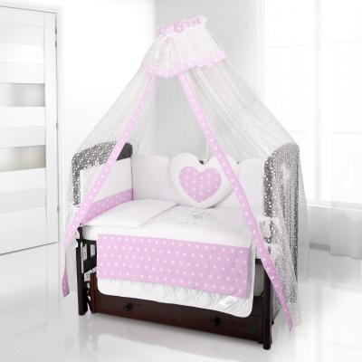 Балдахин на детскую кроватку Beatrice Bambini Di Fiore (stella rosa)