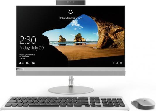 """Моноблок 21.5"""" Lenovo IdeaCentre 520-22 1920 x 1080 Intel Pentium-4415U 4Gb 1Tb Intel HD Graphics 610 64 Мб DOS серебристый черный F0D5000KRK"""