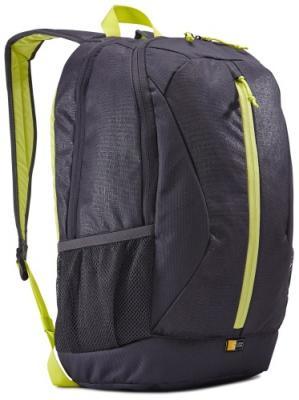 Рюкзак для ноутбука 15.6 Case Logic Ibira ANTHRACITE полиэстер черный салатовый IBIR-115_ANTHRACITE рюкзак case logic 17 0 inch vnb 217 black