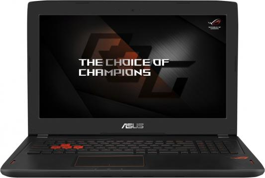 Ноутбук ASUS ROG GL502VM-FY303T 15.6 1920x1080 Intel Core i5-7300HQ asus rog gl502vm black gl502vm fy303
