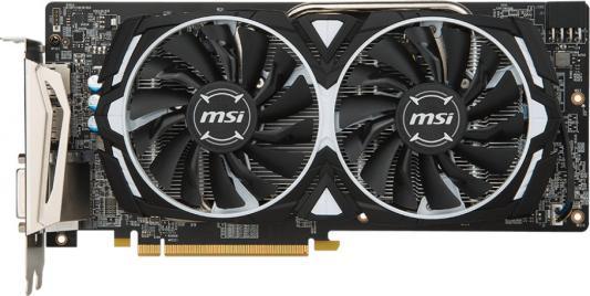 Видеокарта MSI Radeon RX 580 ARMOR PCI-E 8192Mb GDDR5 256 Bit Retail (RX 580 ARMOR 8G) видеокарта sapphire radeon rx 580 11265 21 20g pci e 8192mb 256 bit retail