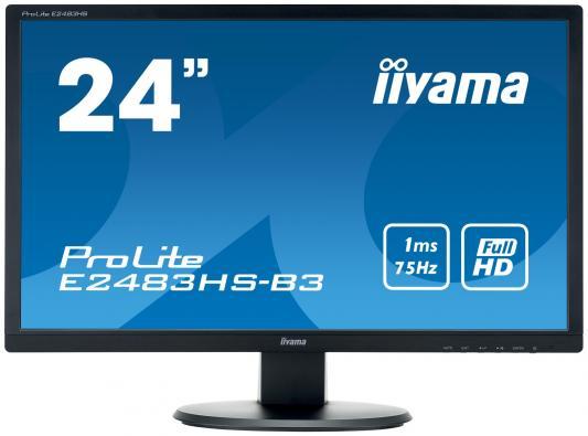 купить Монитор 24 iiYama PROLITE E2483HS-B3 дешево