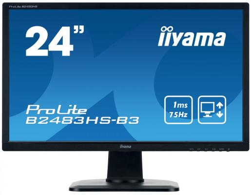 Монитор 24 iiYama ProLite B2483HS-B3 iiyama prolite xb2380hs