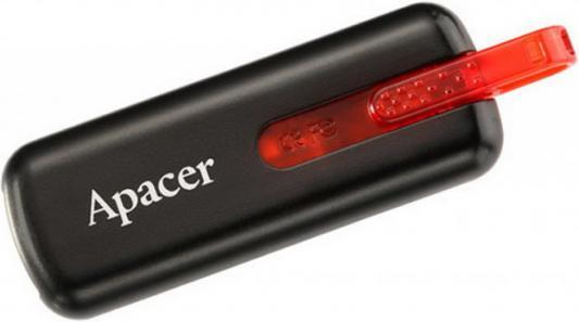 Флешка USB 32Gb Apacer Flash Drive AH326 AP32GAH326B-1 черный usb flash drive 32gb smartbuy click blue sb32gbcl b
