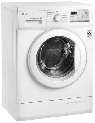 Стиральная машина LG LG FH2H3WD4 белый стиральная машина узкая lg f12u1hbs4