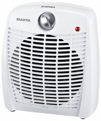 Тепловентилятор Marta MT-2521 2000 Вт белый набор столовых приборов marta mt 2701 twinkle