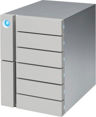 Сетевое хранилище Lacie Thunderbolt 3 48Tb STFK48000400 6big USB 3.1 TYPE C серебристый