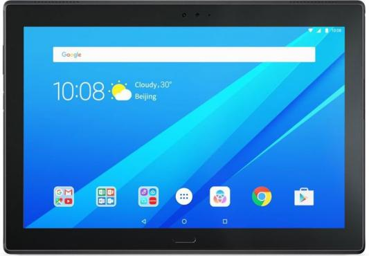 Планшет Lenovo Tab 4 10 Plus TB-X704L 10.1 16Gb черный Wi-Fi 3G Bluetooth LTE Android ZA2R0018RU планшет lenovo tab 4 8 plus tb 8704x za2f0087ru qualcomm snapdragon 625 2 0 ghz 3072mb 16gb gps lte 3g wi fi bluetooth cam 8 0 1920x1200 android