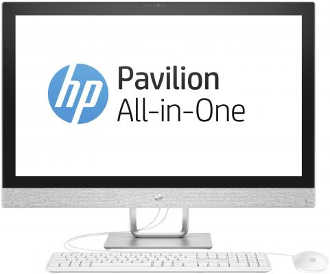 "все цены на Моноблок 27"" HP Pavilion 27-r014ur 2560 x 1440 Intel Core i7-7700T 8Gb 1Tb Radeon 530 2048 Мб Windows 10 Home белый 2MJ74EA онлайн"