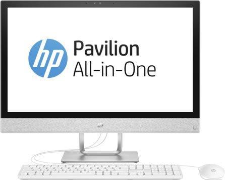 Моноблок 23.8 HP Pavilion 24-r002ur 1920 x 1080 Intel Core i3-7100T 4Gb 1 Tb 16 Gb Intel HD Graphics 630 64 Мб Windows 10 Home белый 2MJ39EA