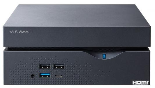 Компьютер ASUS VivoMini VC66-B009Z Intel Core i3-7100 4Gb 500Gb Intel HD Graphics 630 Windows 10 черный 90MS00Y1-M00090 системный блок asus vc66 b009z черный