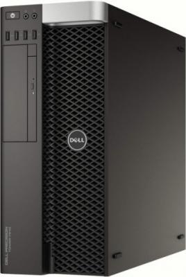 Системный блок DELL Precision T7810 E5-2620v4 2.1GHz 64Gb 2Tb 512Gb SSD DVD-RW Win7Pro черный 7810-4582 системный блок dell optiplex 3050 intel core i3 3400мгц 4гб ram 128гб win 10 pro черный