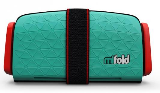 Бустер Mifold The Grab-and-Go (lime green) mifold автокресло бустер mifold 15 36 кг slate grey