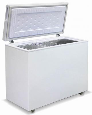 Морозильный ларь Бирюса Б-285VK белый морозильный ларь kraft bd w 350qx белый