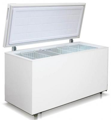 Морозильный ларь Бирюса Бирюса 455VК белый морозильный ларь бирюса бирюса 455vк белый