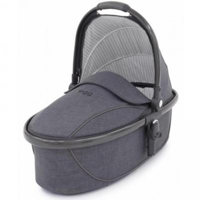 Люлька Egg Carrycot Quantum Grey & Gun Metal Frame прогулочная коляска egg stroller quantum grey
