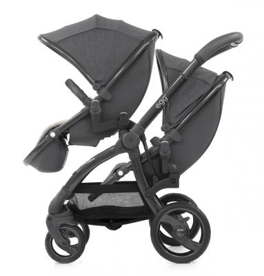 Прогулочный блок для второго ребенка Egg Tandem Seat Quantum Grey & Gun Metal Frame