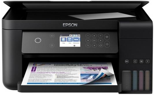 МФУ Фабрика печати EPSON L6160 цветное A4 33/20ppm 4800x1200dpi Wi-Fi C11CG21404 мфу фабрика печати epson l3050 цветное a4 33 15ppm 2400x1200dpi usb wi fi c11cf46405